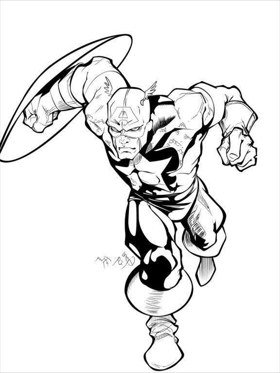 Pin by spetri.marvel.Comics on LineArt: Capt America   Pinterest ...