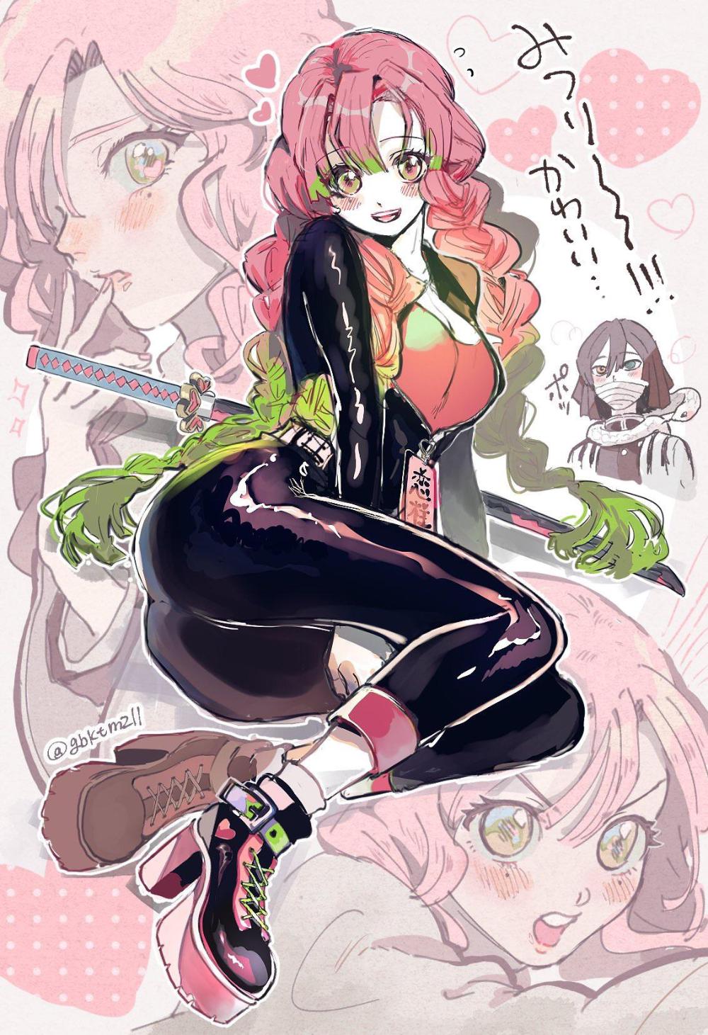 "Pin On ˧Œí™"" A character in kimetsu no yaiba. pin on 만화"