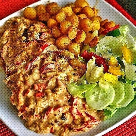 Sahne Schnitzel, sehr einfach von Witkia | Chefkoch : Zwiebel - Sahne Schnitzel, sehr einfachZwiebe