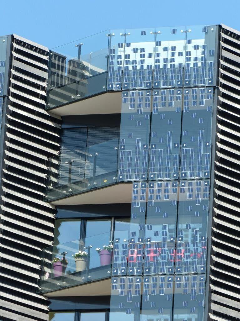 Hikari Building Photovoltaic Facade Photovoltaic