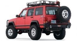 Warn Rock Crawler Rear Bumper For The Jeep Xj Cherokee W Tire