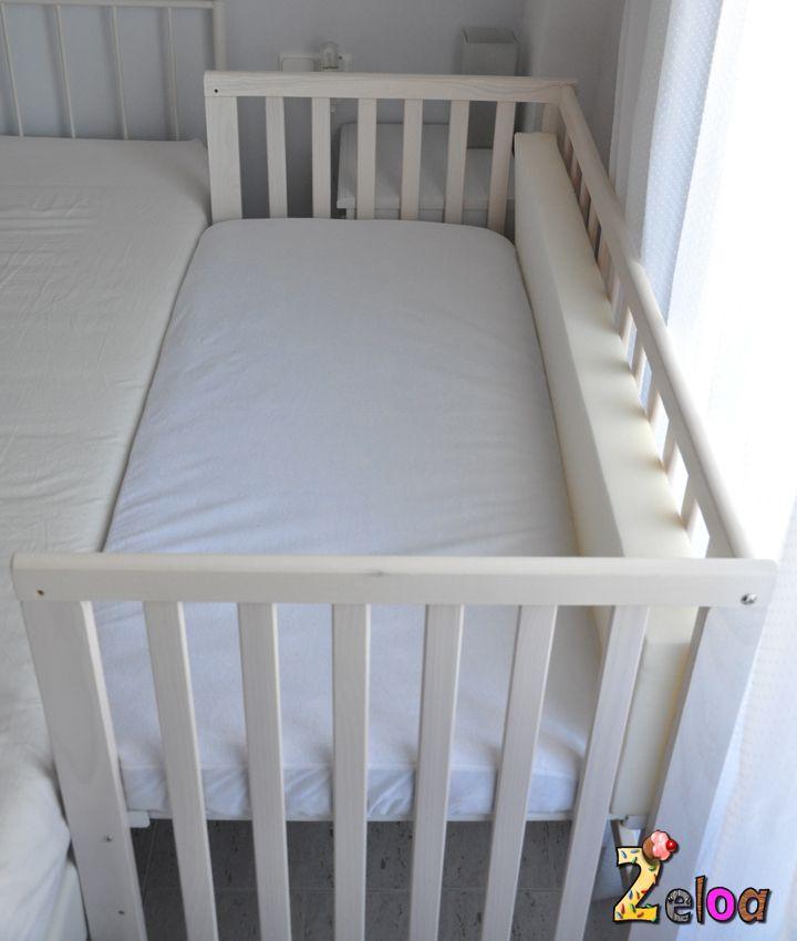 Cómo hacer una cuna colecho barata - www.2eloa.com Baby Bedroom, Baby