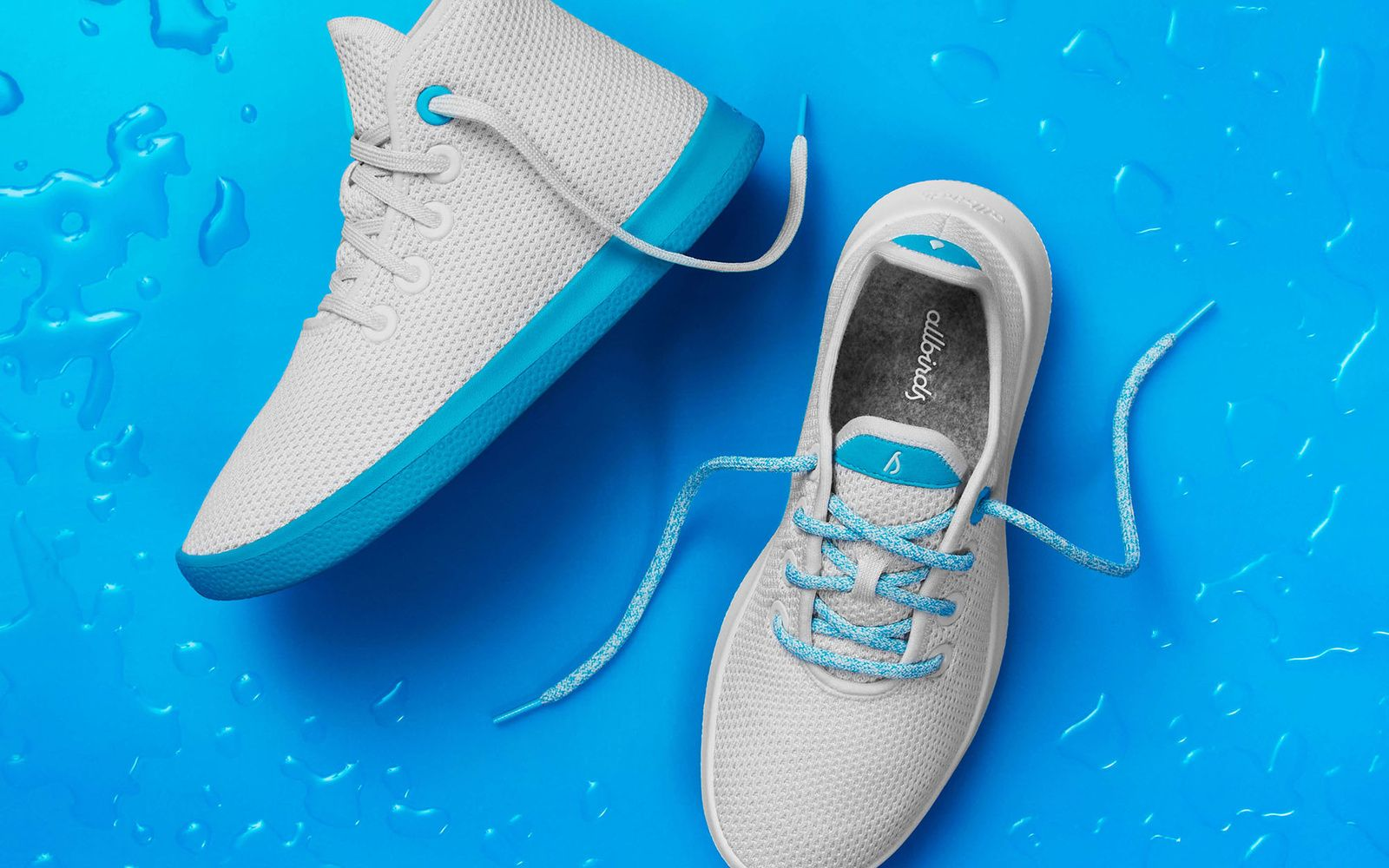 Allbirds new collab with just water is for a good cause