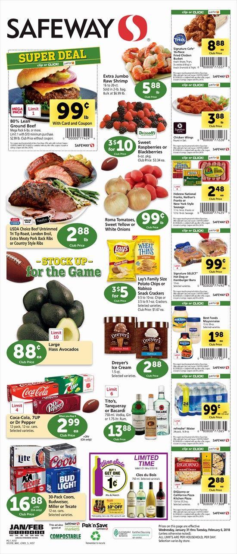 Safeway Weekly Ad Flyer 03/11/20 03/17/20 Weekly ads