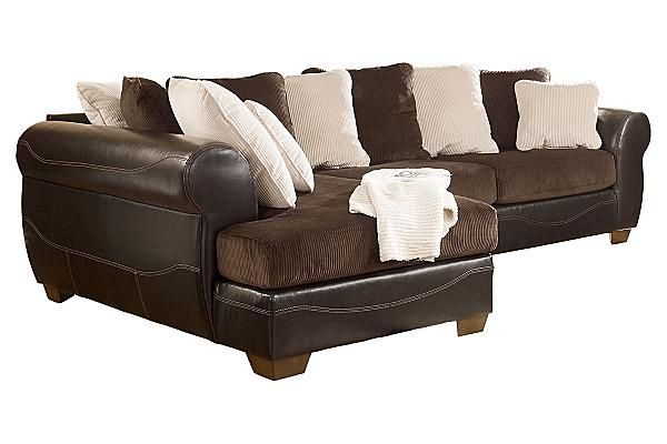 Sofas Victory Chocolate Sectional Ashley Furniture Furniture Ashley Furniture Home