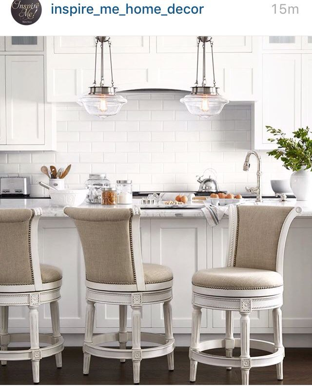 Those Are Some Chairs Kitchen Design Traditional White Traditional Kitchen Design Minimalist Kitchen Design