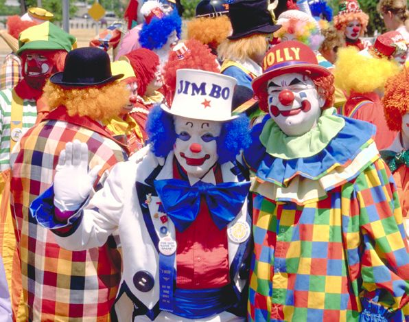 Bring on the clowns