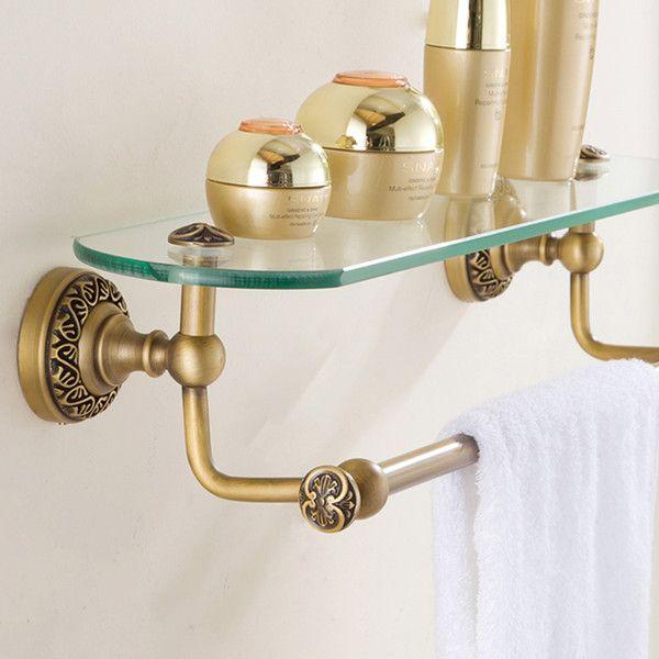 European Retro Style Bathroom Products Bathroom Accessories Copper... (61  CAD) ❤