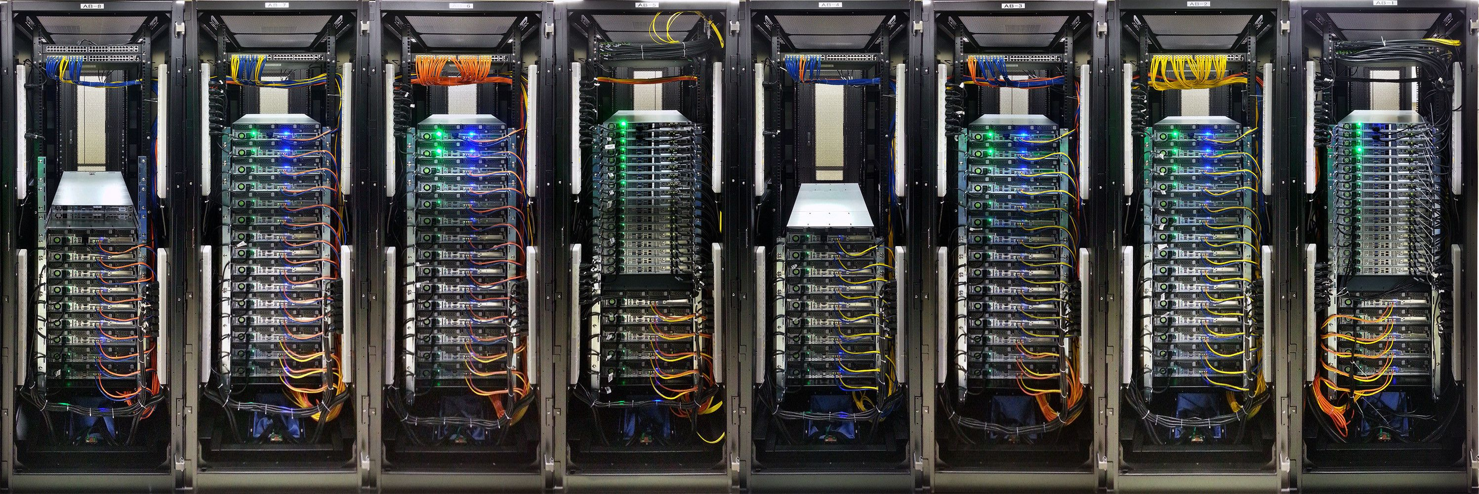 Beautiful Server Racking Very Well Done Patched In Very Neatly