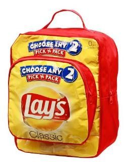 Child Size Backpack Made From Upcycled Lay S Potato Chip