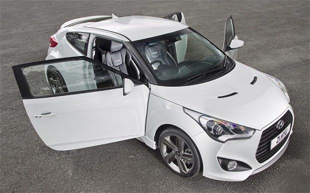 My new toy :) 2013 Veloster Turbo - Storm Trooper White