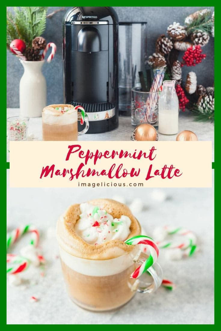 Photo of Peppermint Marshmallow Latte – Imagelicious.com