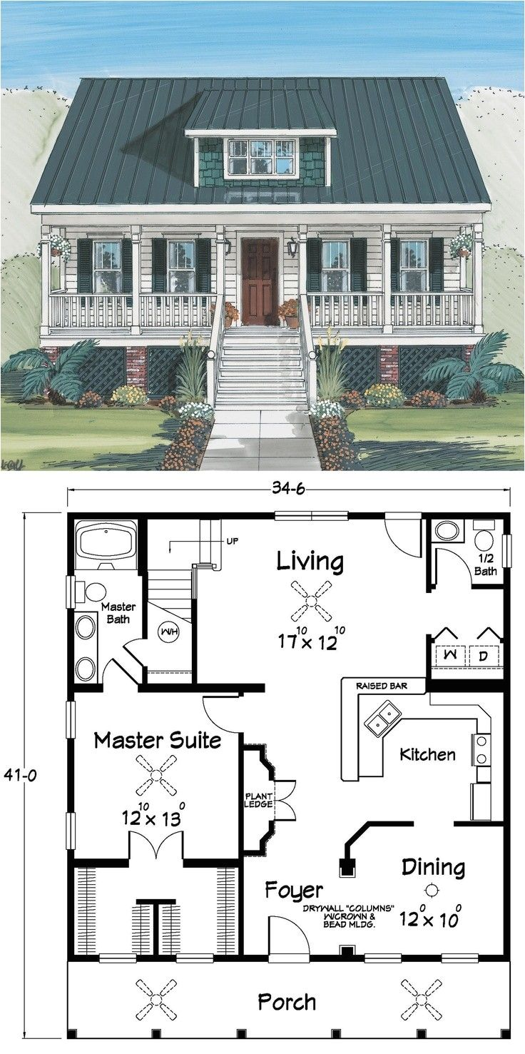 Small Chalet House Plans with Loft Check more at https