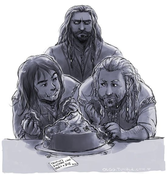 Thorin is not amused...