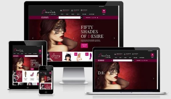 Desire Sexy Shop Intriguing eCommerce WordPress Theme | Надо купить ...