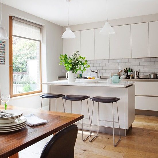 Explore This Contemporary London New Build With A Retro Twist | Ideal Home