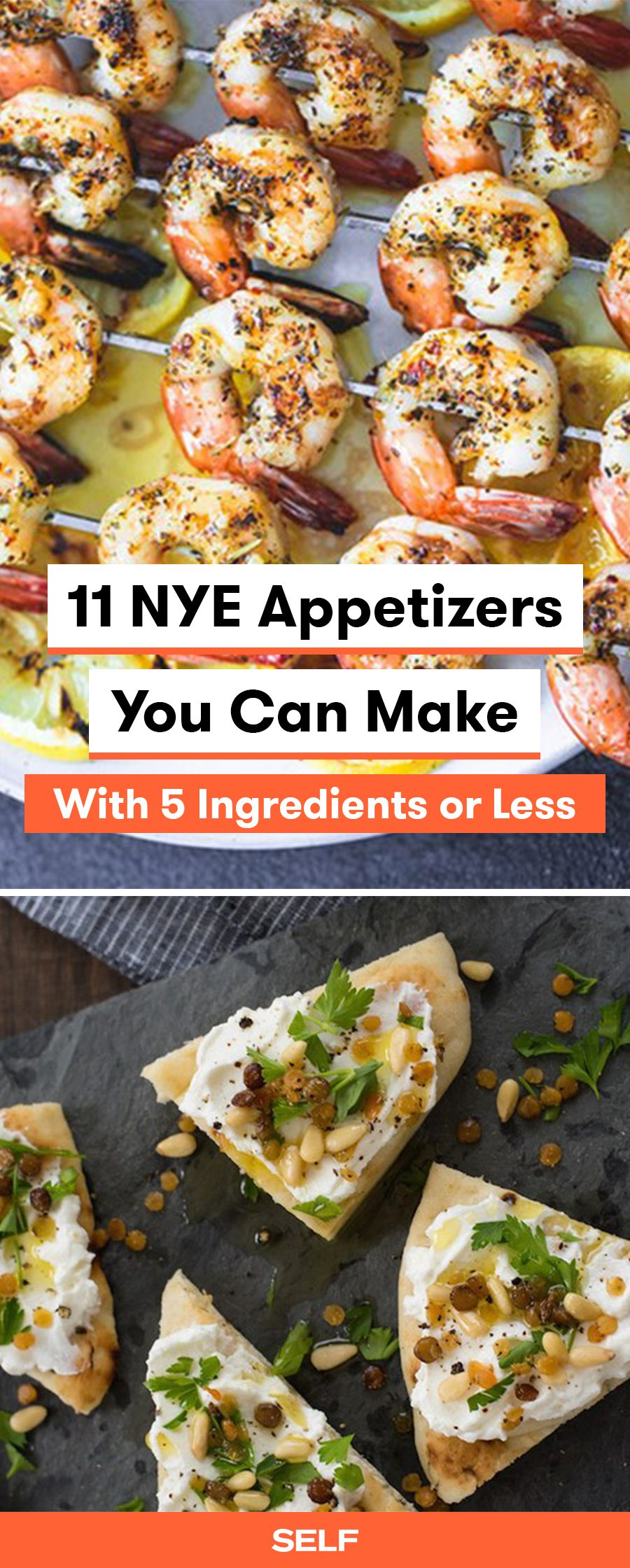 11 New Year S Eve Appetizers You Can Make With 5 Ingredients Or Less