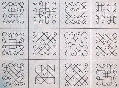 Zentangle Lesson Plan Simple Patterns To Draw Rangoli Designs