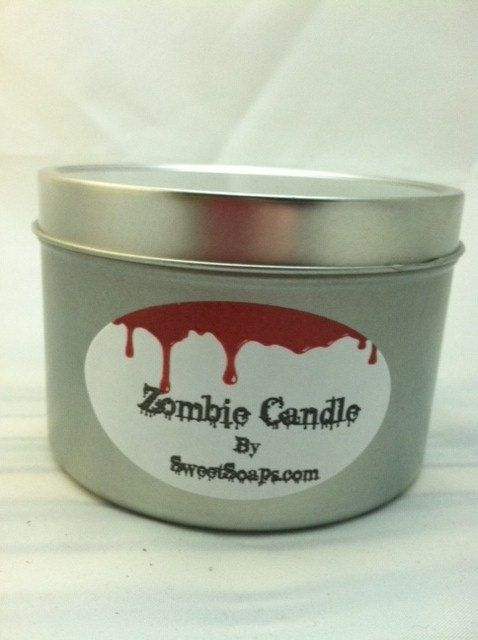 Zombie Candle by sweetsoaps
