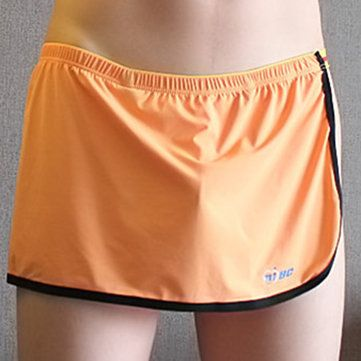 23f8fcd6a42 Fashion Arrow Pants Sexy Ice Silk Breathable Sport Home Soft Low Waist  Underwear for Men - NewChic Mobile.