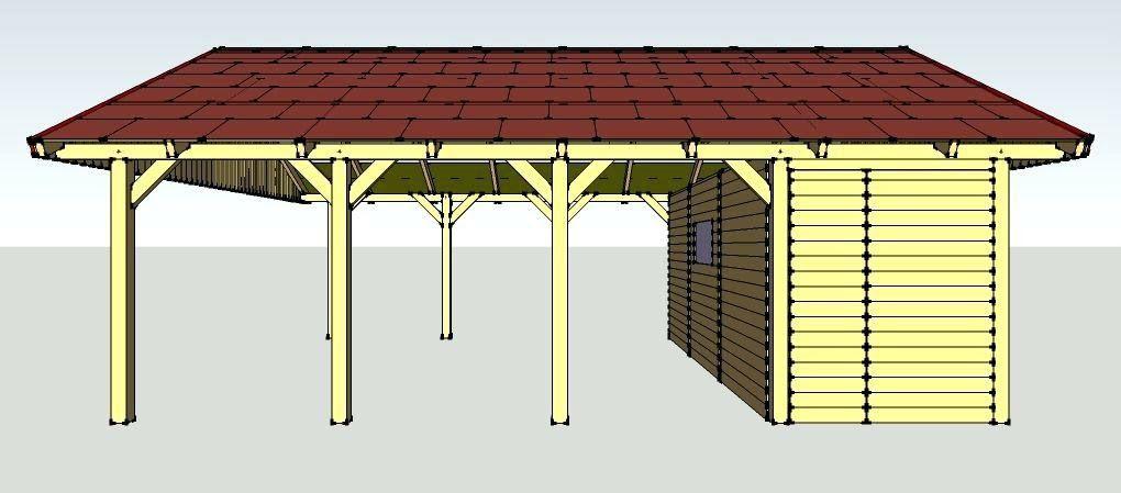 Gartenhaus Mit Satteldach Selber Bauen Gartenhaus