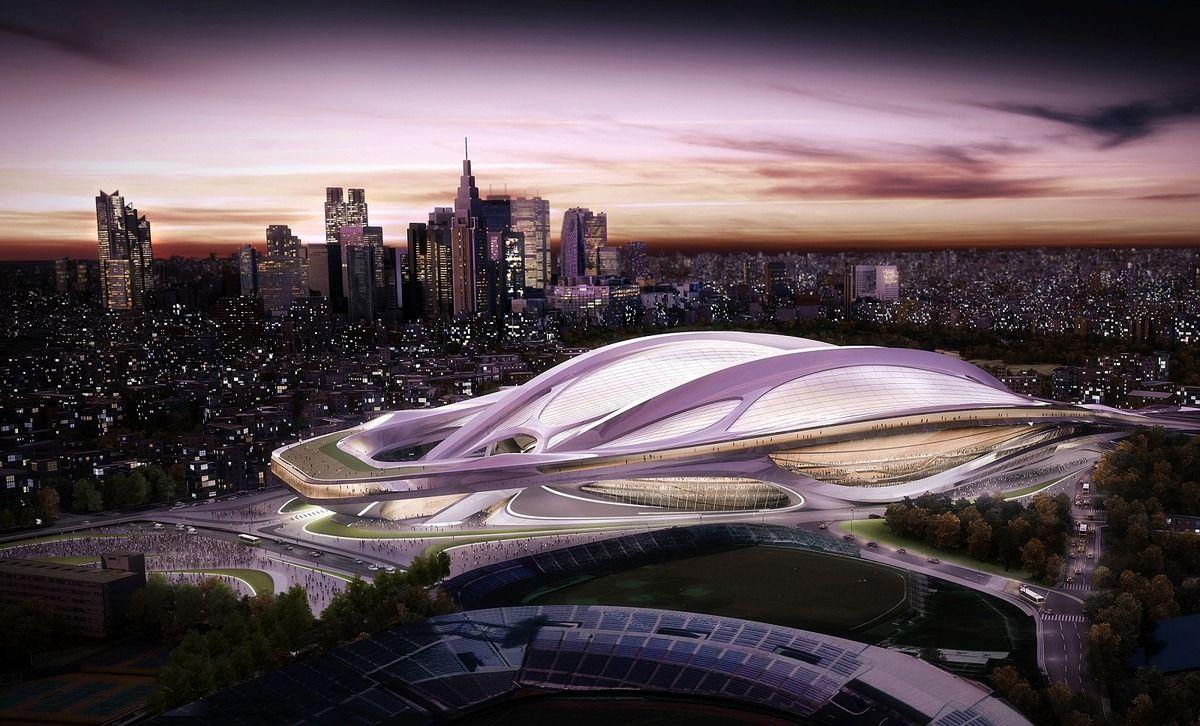 新国立競技場の設計者 ザハ ハディド氏が韓国に造った建物もすごい
