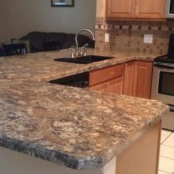 Customer Projects Christine O Sent In The Photo And Remarks We Decided On The Wilsonart Hd Laminate Countertops Countertops Wilsonart Laminate Countertops