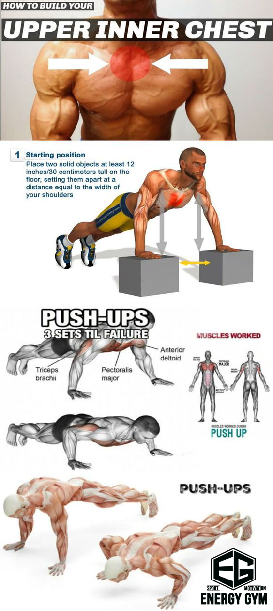 The Optimal Exercise For Pumping The Middle Bundle Of Pectoral Muscles Chest Workouts Fitness Training Gym Workout Tips