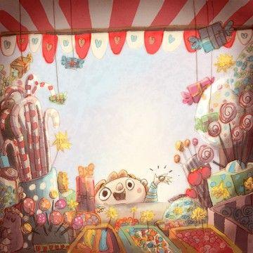 Candy shop boy ~ by Rémy Nardoux