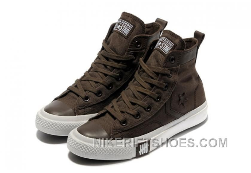 ba9fcc9a8ffe Converse Edison Chen X Undefeated Limited Edition High Top Canvas Chocolate