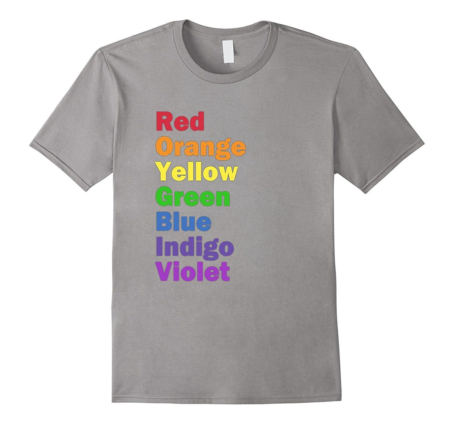 Colors Of The Rainbow T Shirt