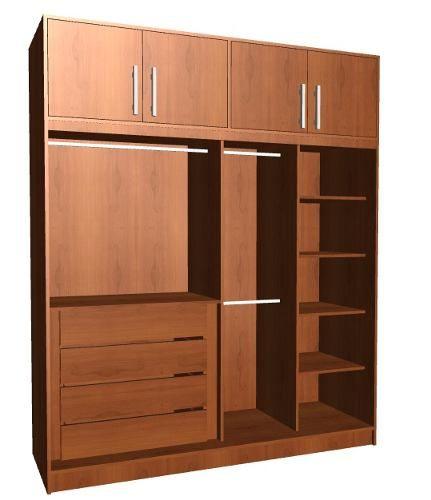 Programa para crear y desglosar muebles cocina y closet for Closet de madera para dormitorios