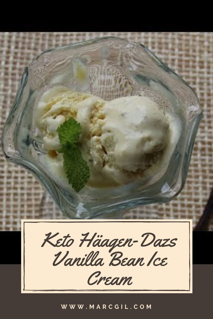 Photo of Keto Version of Häagen-Dazs Vanilla Bean Ice Cream | Keto Recipes | Keto Ice Cream | Sugar Free – Live Well Corner