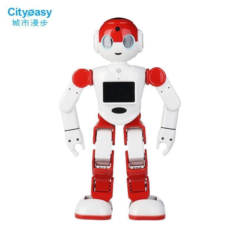 Cityeasy Intelligent Humanoid Robot Voice Control Robot Programming Software App Control Security #programingsoftware
