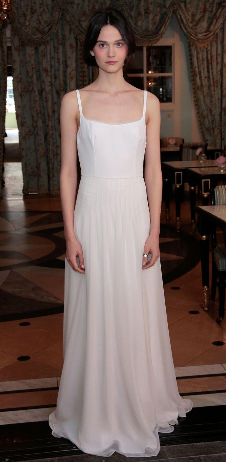 Delphine manivetus flowy spring wedding dresses are everything