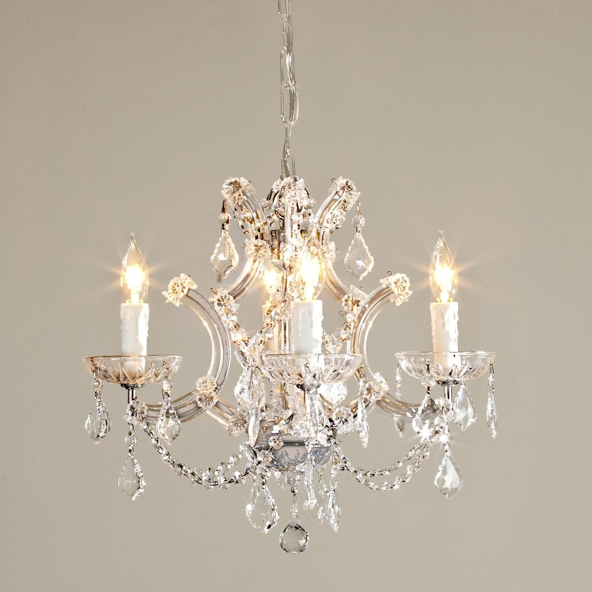 Round crystal chandelier l d gerber chandelier bedroom - Small crystal chandelier for bathroom ...