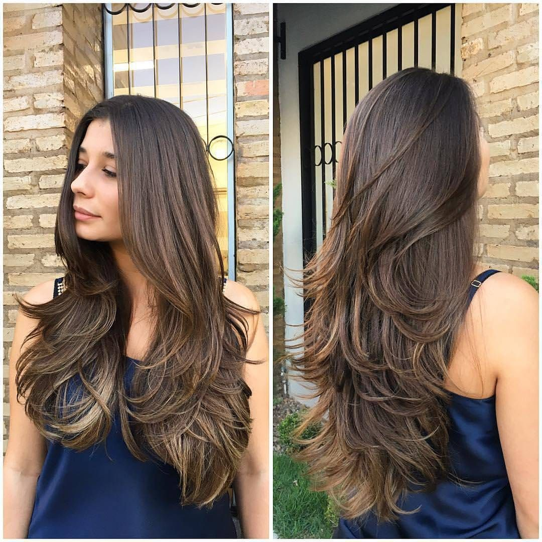 Gefallt 3 981 Mal 50 Kommentare Cabelos Longos Long Hair Cabeloslongos Auf Instagram Ah Esse Long Layered Hair Hair Styles Haircuts For Long Hair