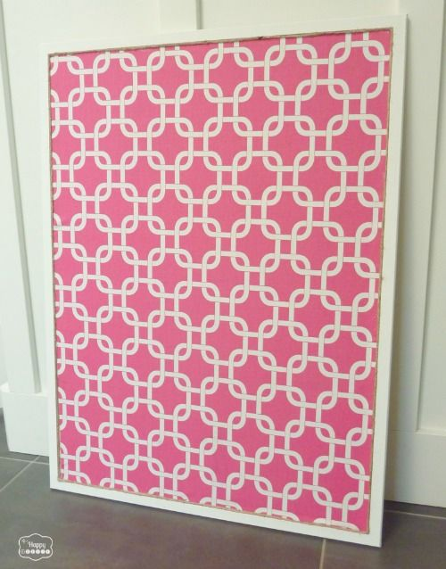 I Have 2 Huge Boards I Need To Work On Asap. Fabric Covered Bulletin Board  At Thehappyhousie 803x1024