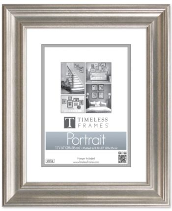 Timeless Frames Lauren Portrait 18x24 Frame Portrait Wall White Picture Frames Frame Wall Decor