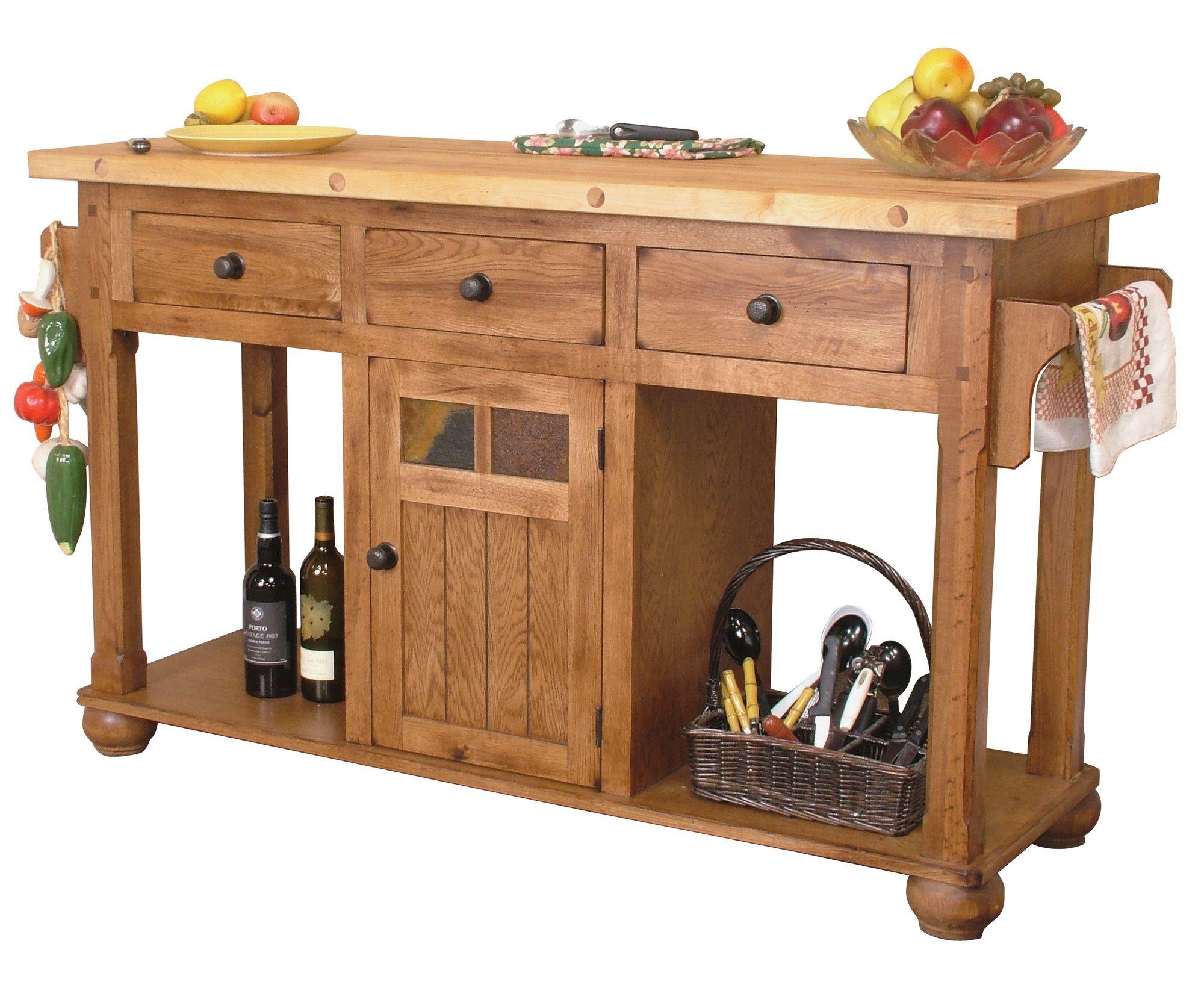 Lovely Sunny Designs Sedona Kitchen Island U0026 Reviews | Wayfair