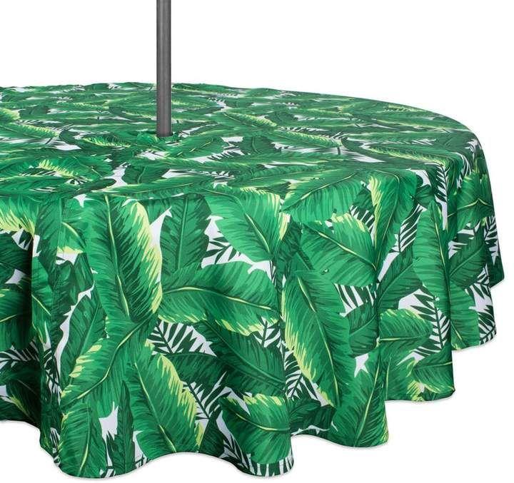 Bay Isle Home Cedartown Banana Leaf Outdoor Umbrella Tablecloth