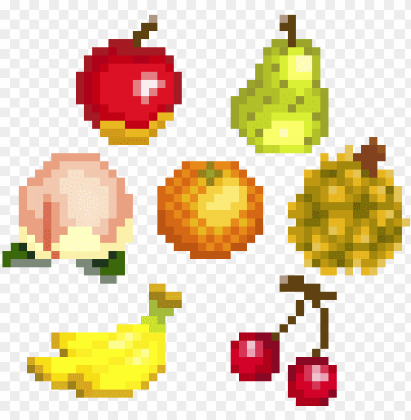 Animal Crossing Fruit Pixel Art Pixels New Leaf Acnl Animal