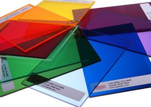 Colored Plexiglass Acrylic Sheets in Transparent Colors | Laser Cut ...