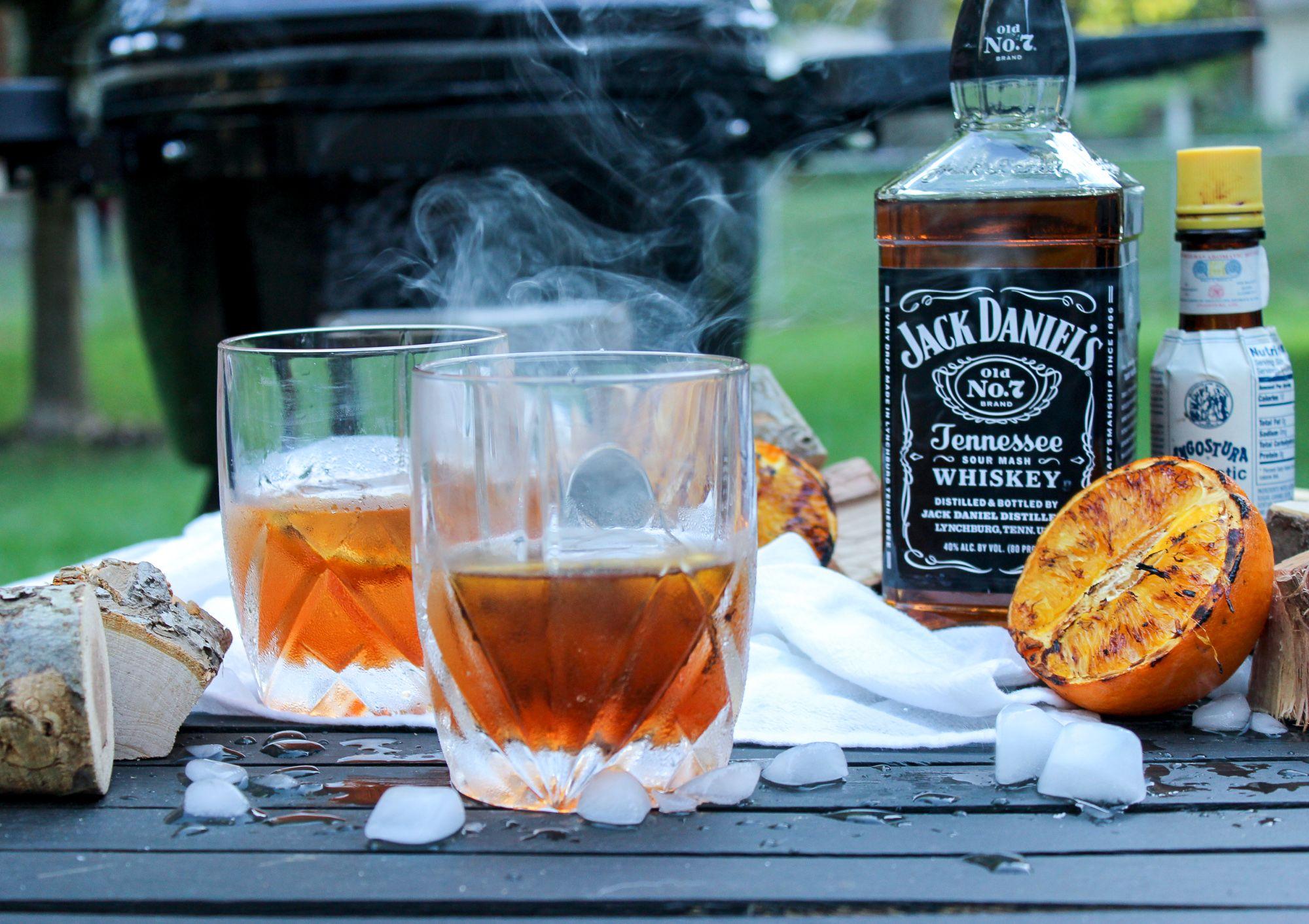 Jack daniels smoked old fashioned recipe smoked