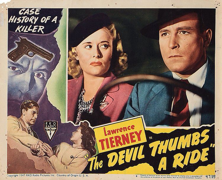 Image result for the devil thumbs a ride film poster