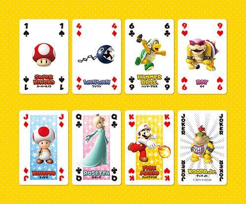 Mario Playing Cards NAP-05 (Character Zukan) by Nintendo