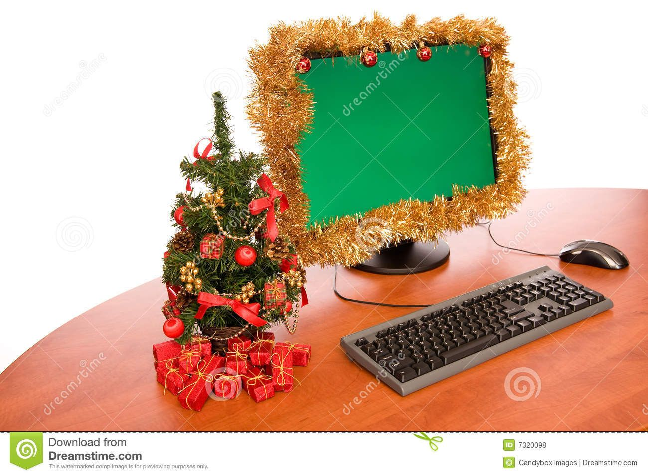 Christmas Decorations For Office Desk