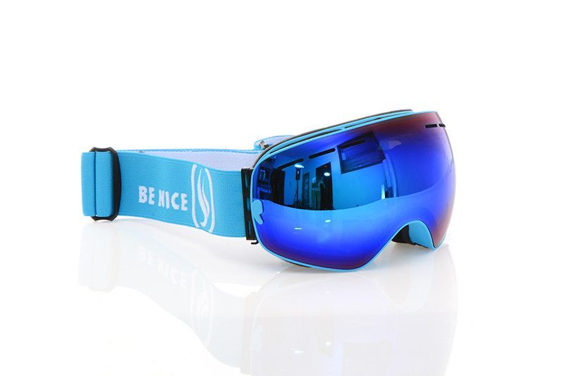 3f0a43833ed8 New genuine Brand Snowboard Ski Goggles 2 Double Layer Large Spectacal Anti  Fog motocross esqui men women skiing Eyewear
