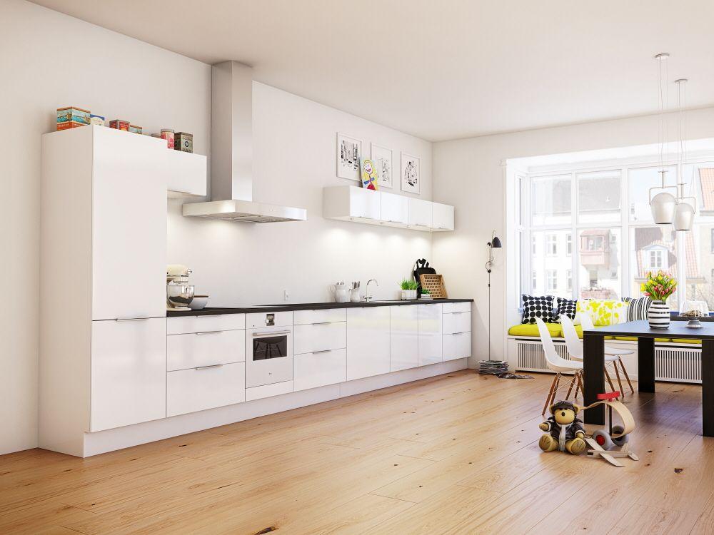mod le polaire hygena cuisine kitchen moderne. Black Bedroom Furniture Sets. Home Design Ideas