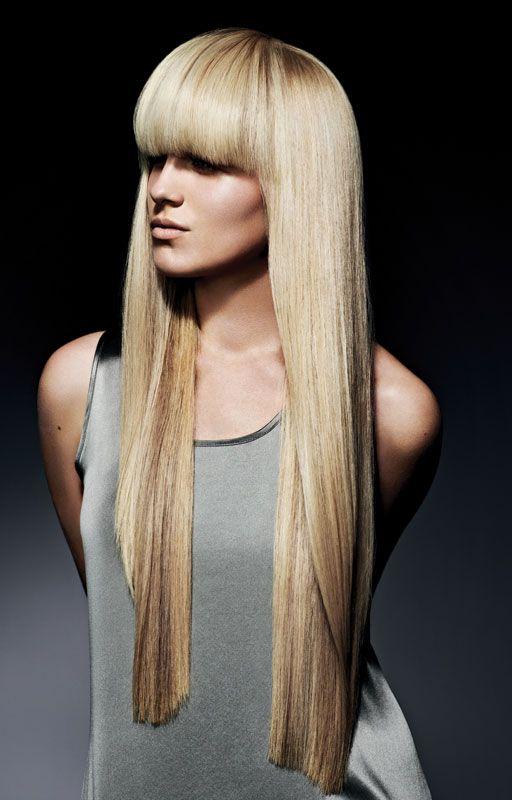 Spring Equinox Blondes Long Hair With Bangs Blonde Hair